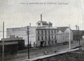 Diamond Ice and Storage Building 1900