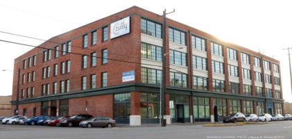 Building renovated by David Zarett and Zarett Properties.